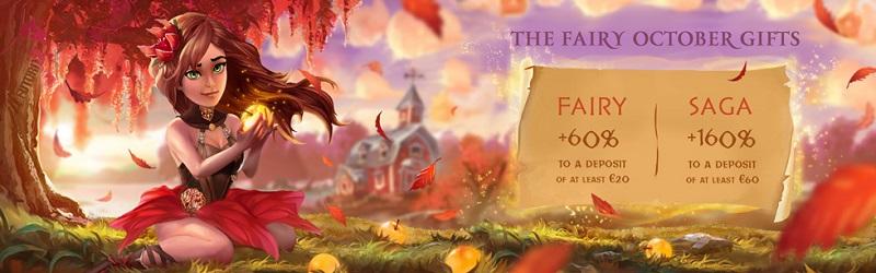 futuriti casino promotion fairy october gifts