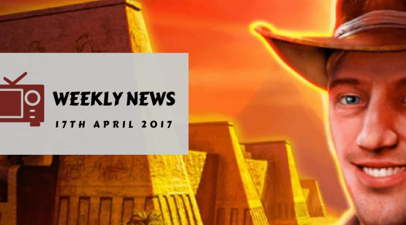 Book of Ra Weekly News 17-04-2017