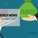 book of ra news 19-08-2017: Lvbet, Casumo