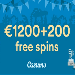 Exclusive Casumo Casino welcome bonus for Book of Ra Novomatic
