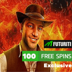 Exclusive Futuriti Casino welcome bonus for Book of Ra Slot