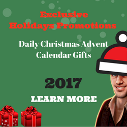 Christmas Advent Calendar 2017 and Exclusive offers from Novomatic Casinos