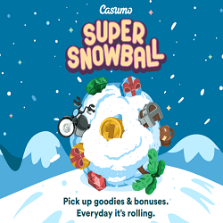 super snowball promotion by casumo casino - christmas 2017