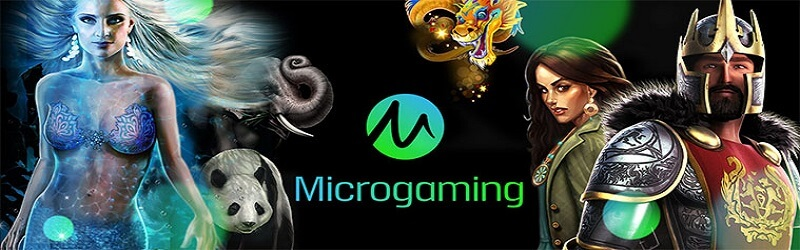 Play over 600 Microgaming Slots for real money