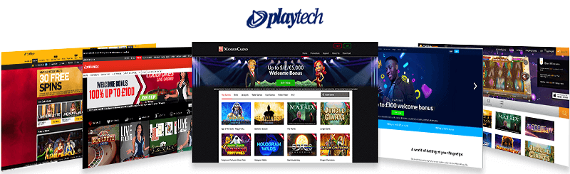 best casinos playtech